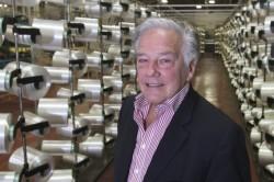 Robert J. Bélanger, président et chef de la direction de Produits Belt-Tech, une PME de Granby dont les produits sont utilisés partout dans le monde. Photo Stéphane Champagne, collaboration spéciale
