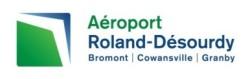 logo aeroport bromont