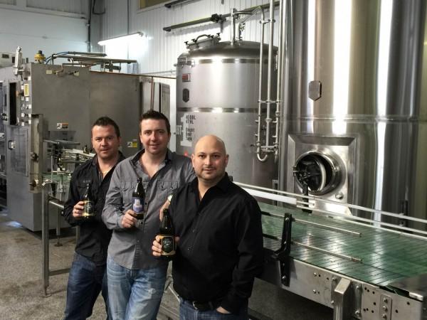 Les propriétaires Sébastien Dancause, Steve Dancause, Mario Lapointe