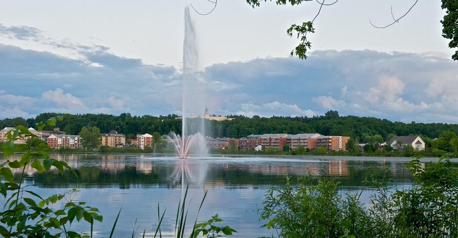 Fontaine Lac Boivin_Granby