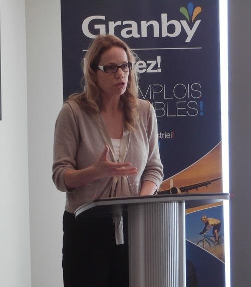 Paule Andrée Bouvier, directrice au Campus de Brome-Missisquoi, centre de formation professionnelle.