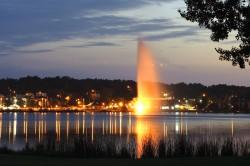 Lac Boivin soir