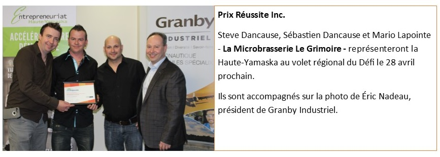 Prix Réussite Inc.