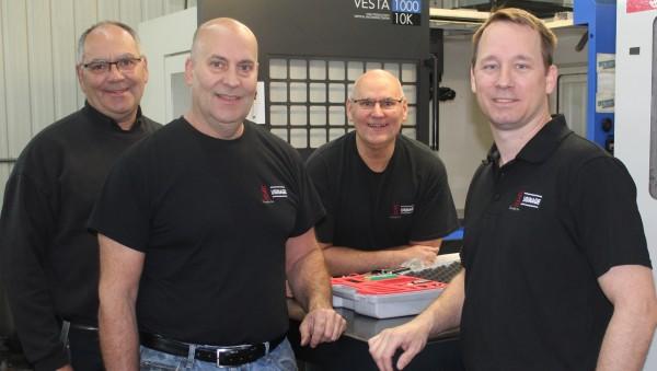 Michel, Marc et Sylvain Feeley, Gabriel Ravenelle