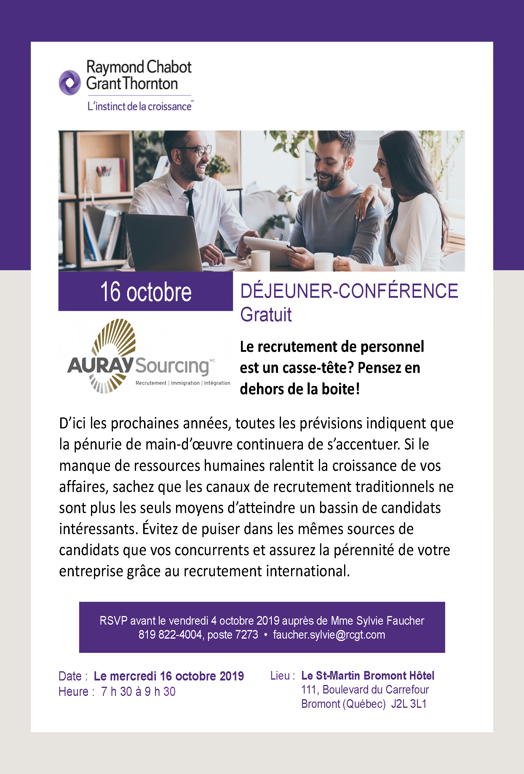 _Invitation Auray Sourcing_