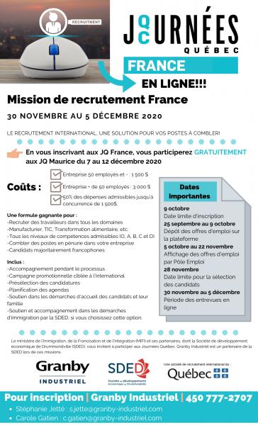 Mission JQ France